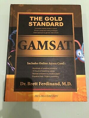 The Gold standard GAMSAT Reference book (2013-2014 edition)