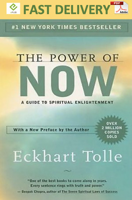 The Power of Now: A Guide to Spiritual Enlightenment (PDF) [DIGITAL]
