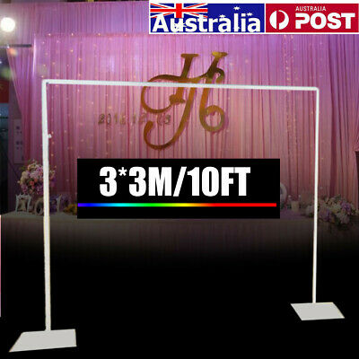 Backdrop Stand Telescopic Wedding Party Photo Photography Studio System   AU
