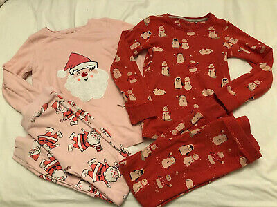 Girls Next Christmas Pjs Pyjamas Age 6-7