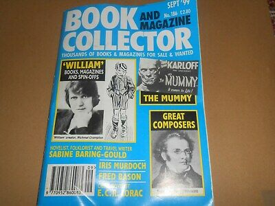 Book and Magazine Collector 186 September 1999 Just William The Mummy Composers