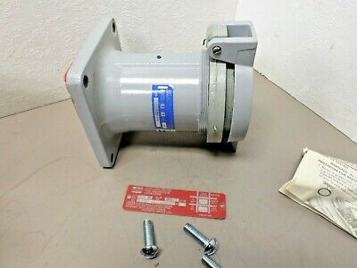 CROUSE HINDS ARKTITE 100 AMP 2W 2P  Style 1 Model M72 Receptacle  AR1021