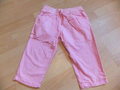 Girls cropped pink trousers.  Age 8 years.  From Next.