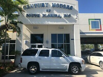 2004 GMC Yukon  Air Suspension All Wheel Drive Tow Package Leather 7 Pass DVD 6.0L V8