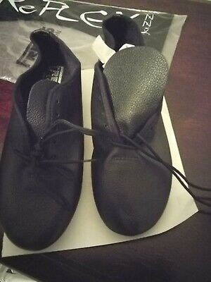 FREED OF LONDON JAZZ DANCING SHOES- NEVER WORN- SIZE 6 usa- BLACK LEATHER