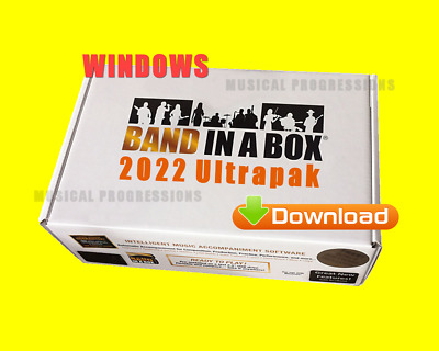 Band In A Box 2020 Ultrapak - Digital Win Audio Music Software - New Full Retail