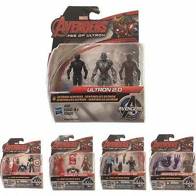 """Marvel Avengers Age of Ultron 2.5"""" Action Figure Lot of 5 packs"""