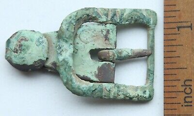 Ancient Old Bronze Ornament Decorated Buckle (NBR)