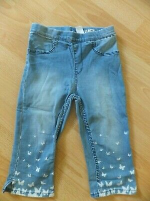 Girls cropped jeggings.  Age 9-10 years.  From H&M.