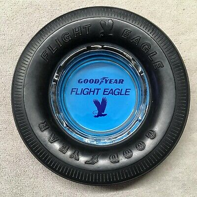 "GoodYear ""Flight Eagle"" Aircraft Rubber Tyre Ashtray."