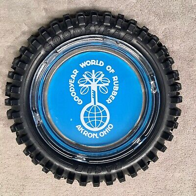 Goodyear Eagle Rubber Tyre Ashtray.