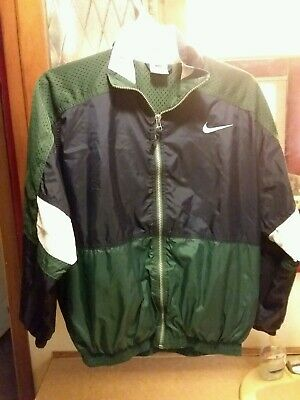 Vintage Nike Air Windbreaker Jacket Youth Size Large Mens Small 90s Swoosh 14-16