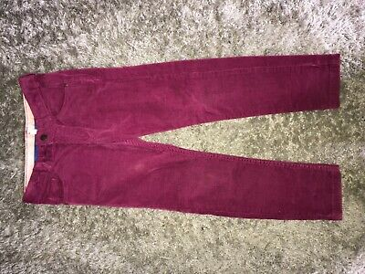Girls Clothes pink skinny trousers age 5-6 years