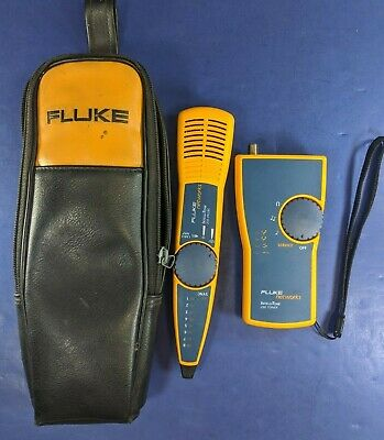 Fluke Intellitone 200 Toner and Probe Kit, Excellent, Soft Case
