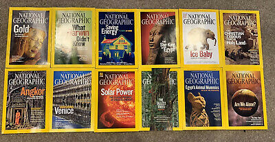 National Geographic 2009 Magazines
