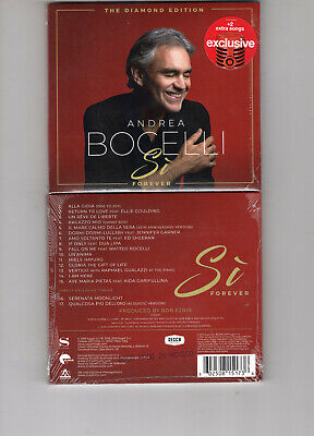 Andrea Bocelli -Si Forever: Diamond Edit (Cd 2019) New  Sheeran  *2 Bonus Trks*