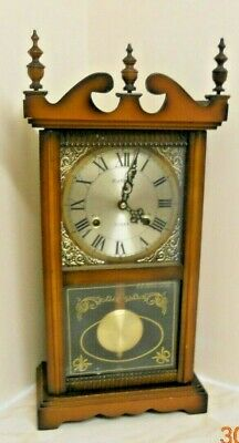 "Highlands Clock Mahogany Movement 31 Day Chiming! 21""H X 10""W X 5"" D"