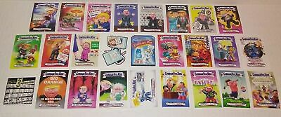 GPK Garbage pail kids WACKY Packages TRUMPOCRACY complete  set cards TRUMP 1-166