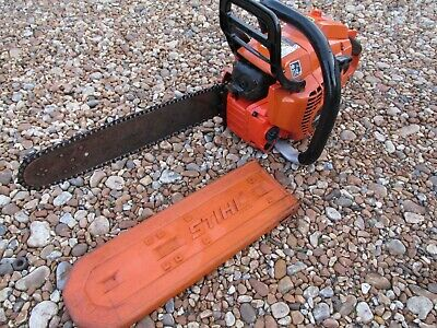 ECHO CS - 450 PETROL CHAINSAW  IN GOOD CONDITION with stihl guard