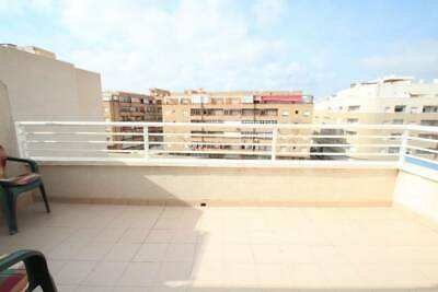 2bed, 1bath penthouse in Torrevieja 700m from beach, 70m2 Alicante, Spain.