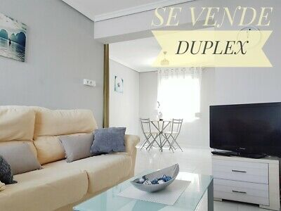 2bed refurbished and furnished duplex in Alicante, Lo Morant park, Spain.