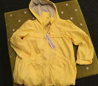 marks and spencer girls age 5-6 Rain Coat NWT