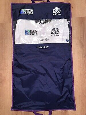 BNWT Scotland  Rugby World Cup 2015 Away Replica Top Body Fit Size XL