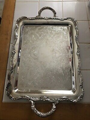 International Silver Co. Company Serving/Tea Tray/Platter —ESTATE FIND