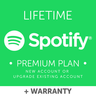 Spotify Premium LIFETIME New or Old Account + Warranty