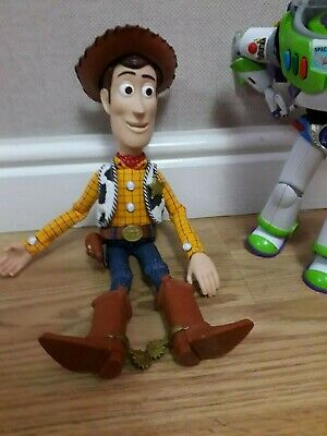 Toy Story Woody Talking Pull String Doll Signature Collection With Hat