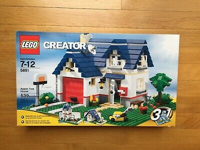 LEGO 5891 - Creator - Apple Tree House - Brand New in Sealed Box