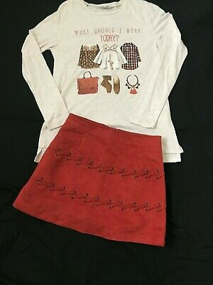 Mayoral Outfit Set ~ Top and Skirt ~ Age 13- 14 Years