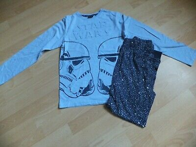 Boys Star Wars pyjamas.  Age 11 years. Long sleeved and long bottoms.  From Next