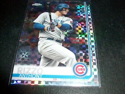 2019 Topps Chrome Prism Refractor Anthony Rizzo