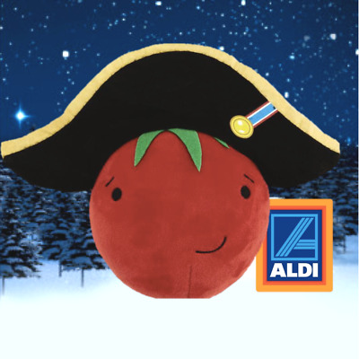 Tiny Tom 2019 Aldi Official Tomato Kevin the Carrot