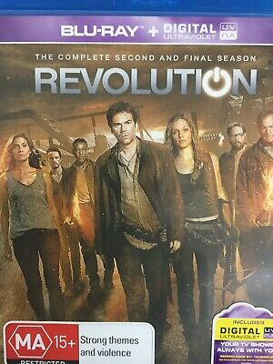 REVOLUTION - Season 2 4 x Disc BLURAY Set AS NEW! Complete Second Series Two