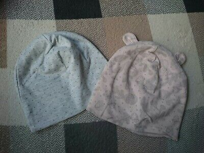 New without tags: set of 2 Baby Girl Hats Bundle - 12-24 Months 86/92cm 1-2 year