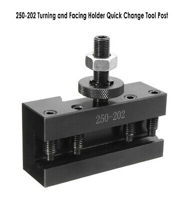 250-202 Turning and Facing Holder Quick Change Tool Post 250-200 BXA Series