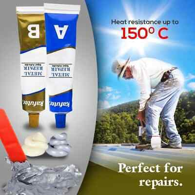 Industrial Heat Resistance Cold Weld Metal Repair Paste 100G/Set  US