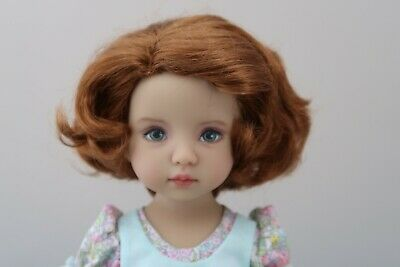 Monique TESSIE Wig 7 1//4 for Effner Little Darlings MSD Iplehouse AUBURN