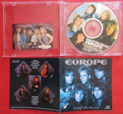 Europe Out Of This World JAPAN CD With Card VDPB-25001