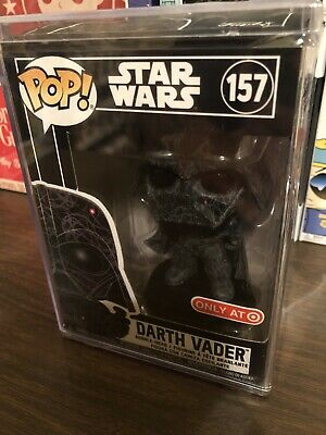 Funko Pop Darth Vader Futura #157 Star Wars Target Exclusive New In Hard Stack!!