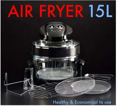 HEALTH LARGE Air Fryer Convection Halogen Oven HEALTHY Cooker Fit XL LOW FAT