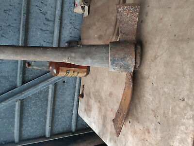 vintage pick axe digging tool
