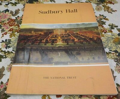 SUDBURY HALL THE NATIONAL TRUST (VINTAGE GUIDE BOOK) 1980s