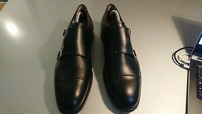 Joseph Cheaney Monk Shoes 9 1/2 tg 44 made in England come Tricker's e Church
