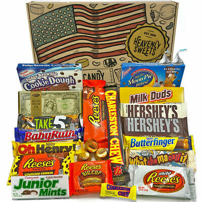 American Chocolate Gift Box Hamper | USA Chocolate Candy | Reeses Hershey
