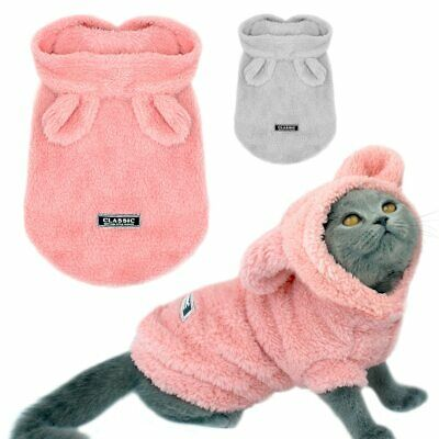 Warm Cat Clothes Winter Pet Puppy Kitten Coat Jacket For Small Medium Dogs Cats