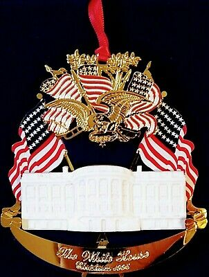 Christmas 1995 The White House House Historical Association Ornament With COA