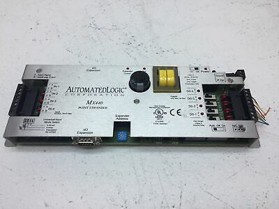 Automated Logic MX040 Point Expander Control Module FOR PARTS AS IS UNTESTED